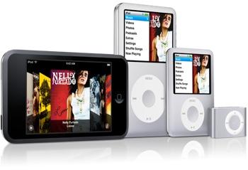 Nuova famiglia iPod